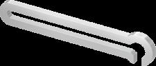 TECElux mini Лицевая панель  с блоком управления белая, стекло