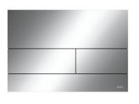 TECEsquare II. Панель смыва,  металл, хром глянцевый