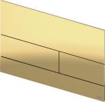 TECEsquare II. Панель смыва,  металл, PVD Polished Gold Optic