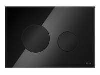 ТЕСЕ панель смыва TECEloop стекло черное, клав. черные