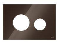 ТЕСЕ Лицевые панели TECEloop modular стекло, цвет-кофейный
