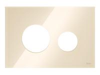ТЕСЕ Лицевые панели TECEloop modular стекло, цвет- слоновая кость (Alape)