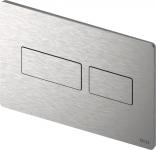 TECEsolid. Панель смыва, шлифованная нержавеющая сталь с покрытием против отпечатков пальцев