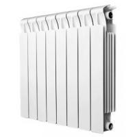 RIFAR MONOLIT 350 8 секций радиатор биметаллический боковое подключение (белый R