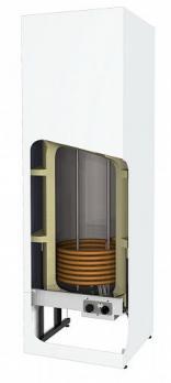 Накопительный водонагреватель косвенного нагрева VLM 220KS с теном 3кВт