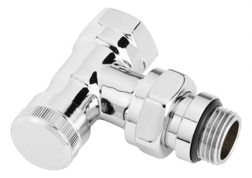 DANFOSS Клапан запорный RLV-CX угловой, хромированный