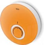 TECE Панель комнатного термостата DT, стекло оранжевое, корпус белый