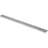 """Решетка """"lines"""", 1000 мм, нерж. сталь., матовая_0"""