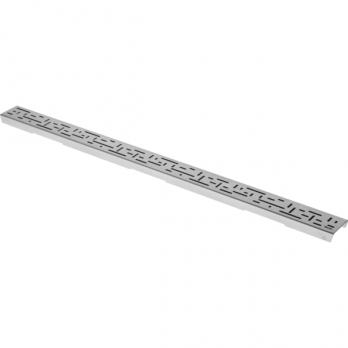 """Решетка """"lines"""", 1000 мм, нерж. сталь., матовая"""
