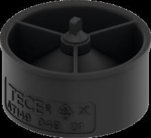 TECE Стакан с мембраной для сифона арт. 650004