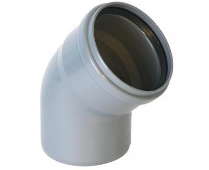 TECE Отвод ПП 75х45* канализационный