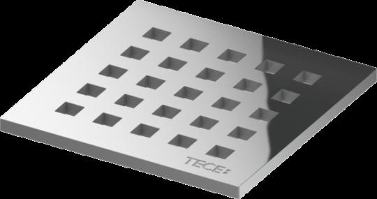 TECE Декоративная решетка quadratum 100 х 100 мм