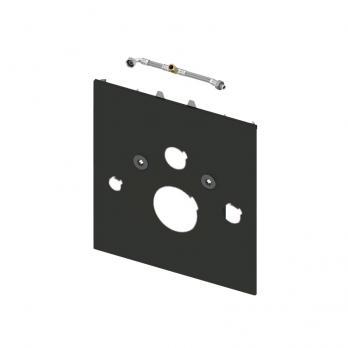 TECE Нижняя панель lux для установки унитаза-биде, стекло черное