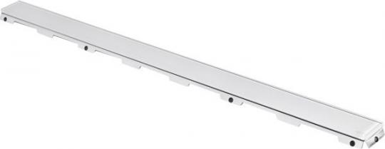 TECE Стеклянная панель белая drainline 900мм
