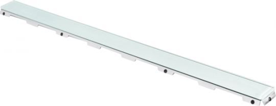 TECE Стеклянная панель зеленая drainline 1500мм