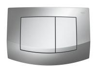TECEambia. Панель смыва с 2-мя клавишами, микс (рамка - хром глянц.)