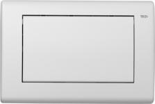 TECEplanus. Панель смыва 1 клав., белая матовая