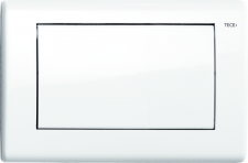TECEplanus. Панель смыва 1 клав., белая глянцевая