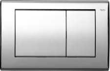 TECEplanus. Панель смыва 2 клав., хром глянц.