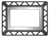 ТЕСЕ Монтажная рамка для установки стеклянных панелей TECEloop или TECEsquare на уровне стены металл