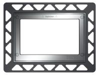 ТЕСЕ Монтажная рамка для установки стеклянных панелей TECEloop или TECEsquare на уровне стены хром г