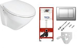 TECE Комплект инсталляция+унитаз+кнопка