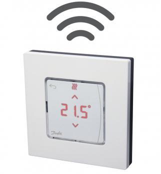 DANFOSS Icon™ беспроводной сенсорный комнатный термостат, накладной