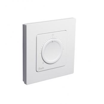 DANFOSS  Icon™ дисковый комнатный термостат, 230 Вт, встраиваемый