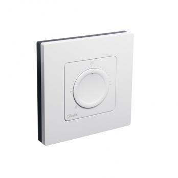DANFOSS Icon™ дисковый комнатный термостат, 230 Вт, накладной