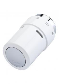 DANFOSS Термостат RAX с жидкостным заполнением, хром/белый