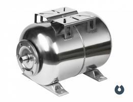 Гидроаккумулятор UNIPUMP 50л, (гор.), нерж. сталь, мембрана EPDM